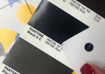 Comprobando color correcto: negro